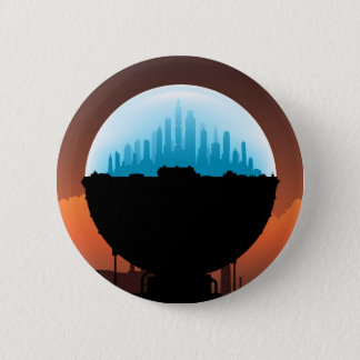 Dome City Pinback Button