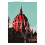 Dome, Hungarian Parliament Building Greeting Cards