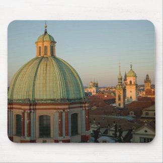Dome of Church of Saint Francis, Prague, Czech Mouse Pad
