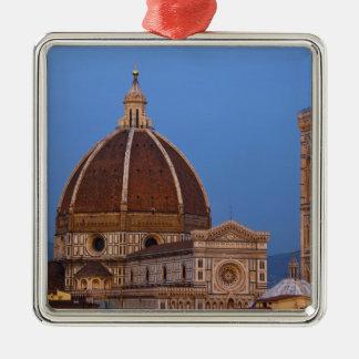 Dome of Santa Maria del Fiore Cathedral in warm Metal Ornament