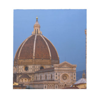 Dome of Santa Maria del Fiore Cathedral in warm Notepad