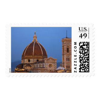 Dome of Santa Maria del Fiore Cathedral in warm Postage