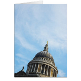Dome of St Paul's Cathedral Greeting Card