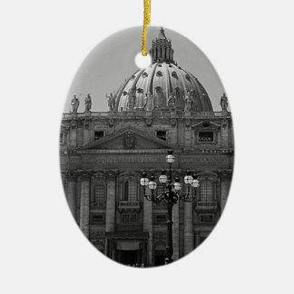 Dome of St Peters Basilica Rome Ceramic Ornament