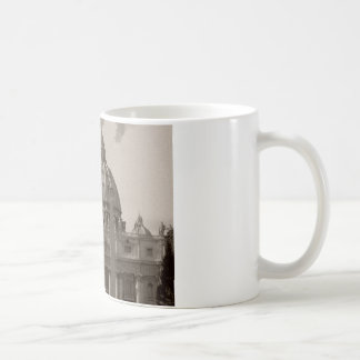 Dome of St Peters Basilica Rome Coffee Mug