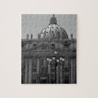 Dome of St Peters Basilica Rome Jigsaw Puzzle