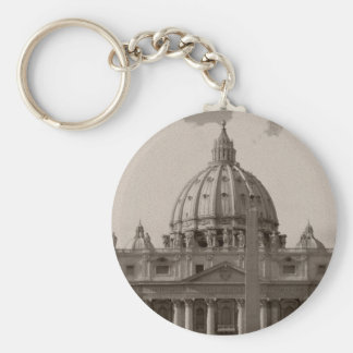 Dome of St Peters Basilica Rome Keychains