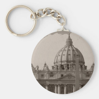 Dome of St Peters Basilica Rome Key Chain