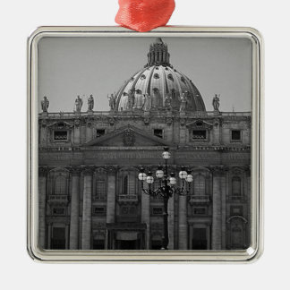 Dome of St Peters Basilica Rome Metal Ornament