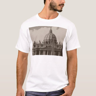 Dome of St Peters Basilica Rome T-Shirt