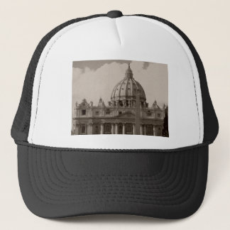 Dome of St Peters Basilica Rome Trucker Hat