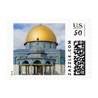 Dome of the Chain Temple Old City of Jerusalem Postage