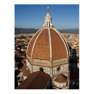 Dome of the Florence Cathedral Postcard