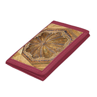 Dome of the Maqsura Trifold Wallet