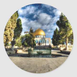 Dome of the Rock Classic Round Sticker