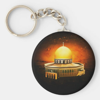Dome of the Rock Mosque Keychains