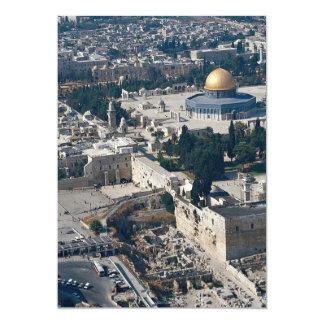 Dome of the Rock, old city Jerusalem, Israel Custom Invitations