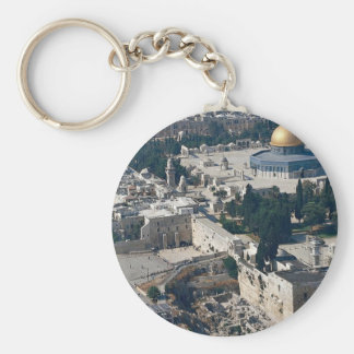 Dome of the Rock, old city Jerusalem, Israel Keychain