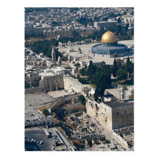 Dome of the Rock, old city Jerusalem, Israel Postcard