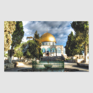Dome of the Rock Rectangular Sticker