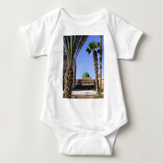 Dome of the Sultan Ali mosque in Cairo Baby Bodysuit