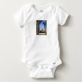 Dome of the Sultan Ali mosque in Cairo Baby Onesie