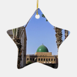 Dome of the Sultan Ali mosque in Cairo Ceramic Ornament