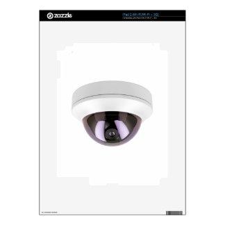 Dome surveillance camera iPad 2 skin