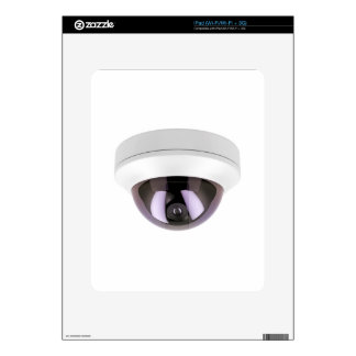 Dome surveillance camera iPad skins