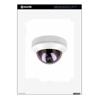 Dome surveillance camera skin for iPad 3