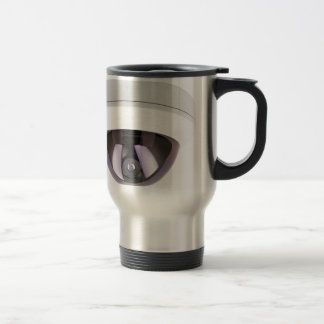 Dome surveillance camera travel mug