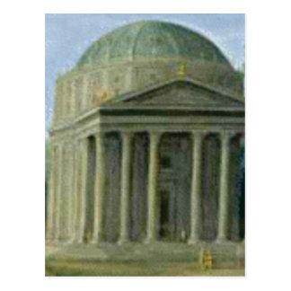 domed columns postcard