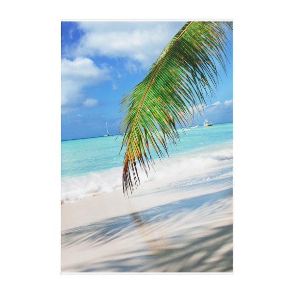 Domenicana beach acrylic wall art