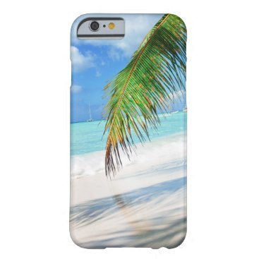 Beach Themed Domenicana beach barely there iPhone 6 case