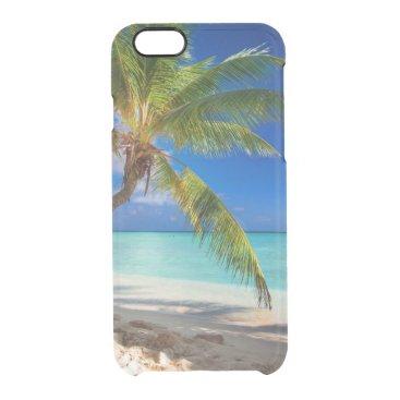 Beach Themed Domenicana beach clear iPhone 6/6S case