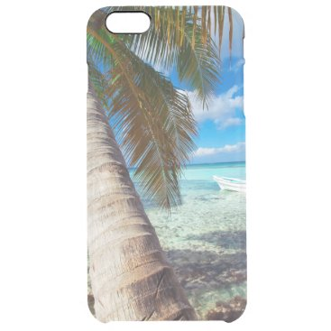 Beach Themed Domenicana beach clear iPhone 6 plus case