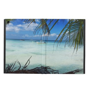Beach Themed Domenicana beach iPad air cover