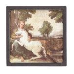 Domenichino Unicorn Premium Trinket Box