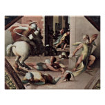 Domenico Beccafumi - Suicide of Cato of Utica Posters