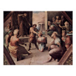 Domenico Beccafumi - The victims of Seleucus Print