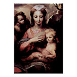 Domenico di Pace Beccafumi - Madonna Posters