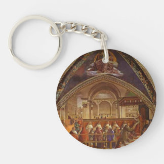 Domenico Ghirlandaio: Confirmation of the Rule Single-Sided Round Acrylic Keychain