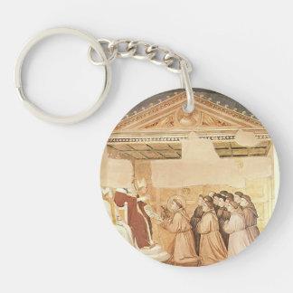 Domenico Ghirlandaio- Confirmation of the Rule Single-Sided Round Acrylic Keychain
