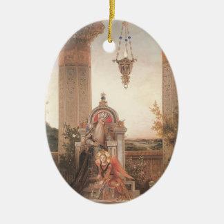 Domenico Ghirlandaio: David Adorno Ovalado De Cerámica