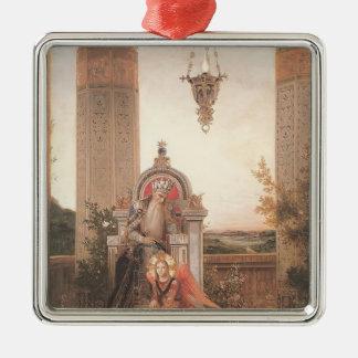 Domenico Ghirlandaio: David Adorno Cuadrado Plateado