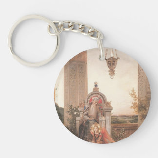Domenico Ghirlandaio: David Single-Sided Round Acrylic Keychain