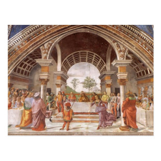 Domenico Ghirlandaio: Herod's Banquet Postcard