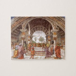 Domenico Ghirlandaio: Herod's Banquet Puzzles
