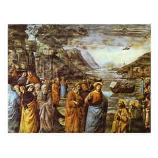 Domenico Ghirlandaio: La llamada de San Pedro Tarjeta Postal