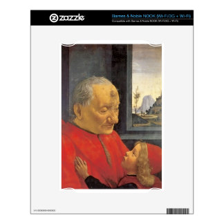 Domenico Ghirlandaio Old Man And Young Boy Decal For The NOOK